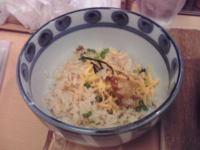 太田の鶏飯の写真