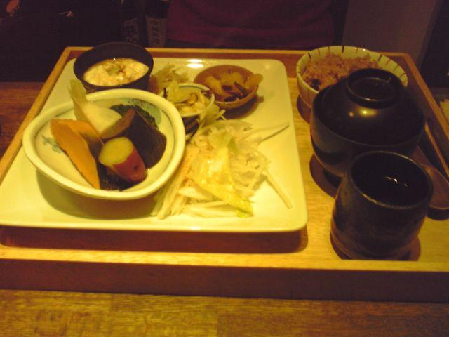 bon bon chaの野菜の炊き合わせの写真
