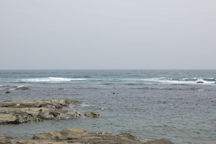 千倉の海の写真