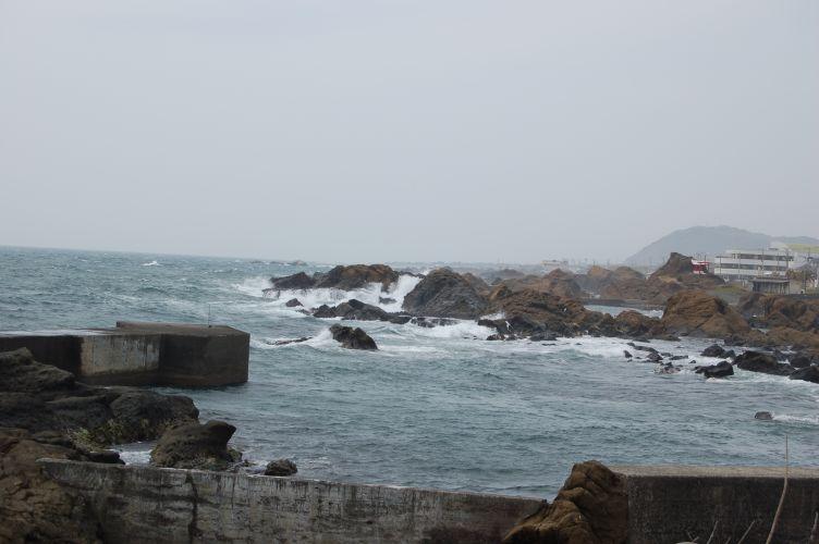 野島崎の海の写真